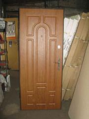 Вхідні двері МДФ Арка нестандартний розмір