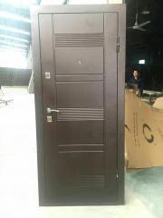 Двери Уличные входные утепленные пенопластом УД-142М