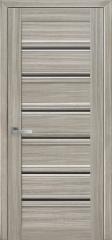 Двері «Венеція С1» з чорним склом Смарт «Новий стиль»
